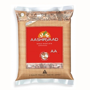 Picture of Aashirvaad Whole Wheat Atta 5 Kg Pouch