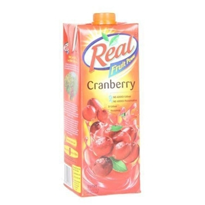 Picture of REAL CRANBERRY JUICE 1 LT TETRAPACK