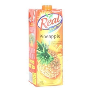 Picture of REAL PINEAPPLE JUICE 1 LT TETRAPACK