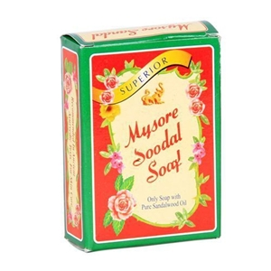 Picture of Mysore Sandal Soap With Pure Sandalwood Oil 75 Gm Carton