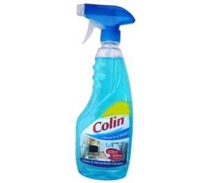 Picture of Colin Glass And Household Cleaner Ultra Shine Formula 500 Ml Bottle
