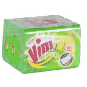 Picture of VIM DISHWASH BAR WITH LIME 200 GM POUCH