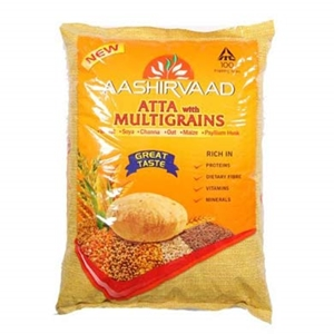Picture of Aashirvaad Atta Multigrains 1 Kg Pouch