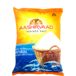 Picture of Aashirvaad Salt Iodised 1 Kg Pouch