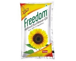 Picture of Freedom Refined Sunflower Oil 1 Lt  Pouch